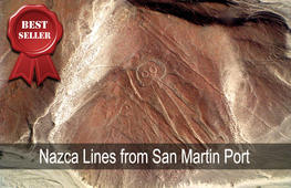 nazca lines from san martin port