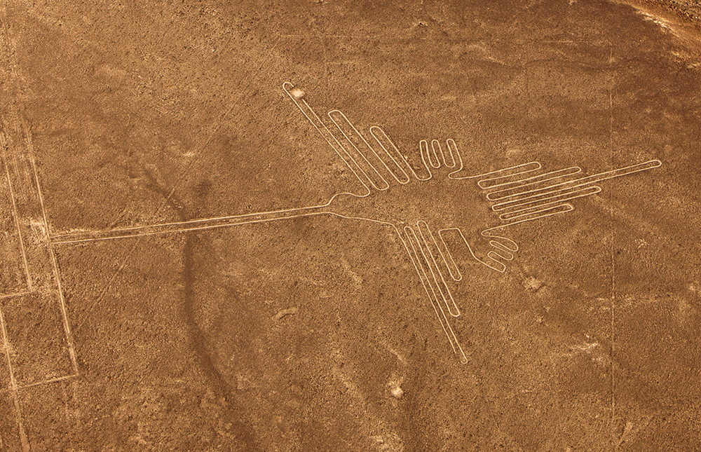 nazca lines from pisco airport